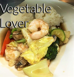 Vegetable Lover Lunch